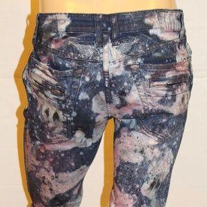 ROBIN'S JEAN Slim Jeans -Pnk /BlueWash